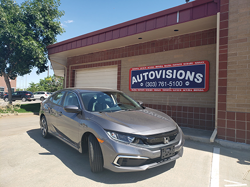 Autovisions Honda Civic Loaner Car